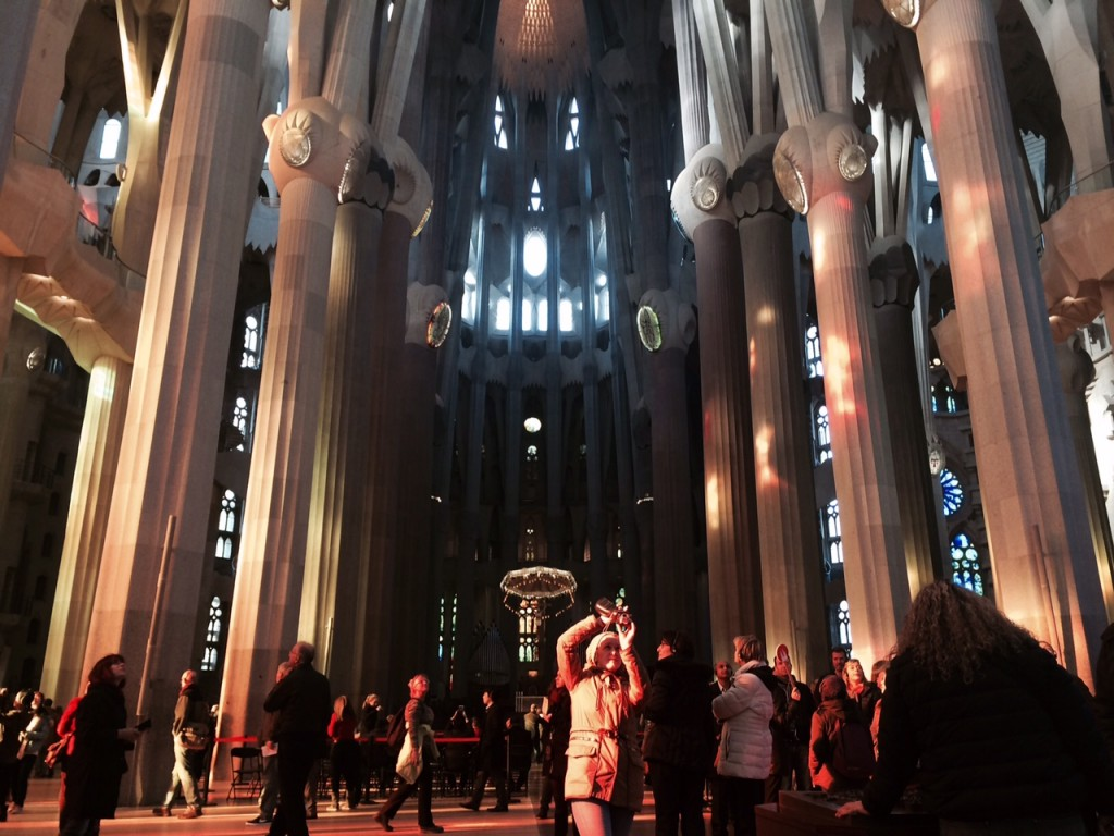 sagrada familia -dentro