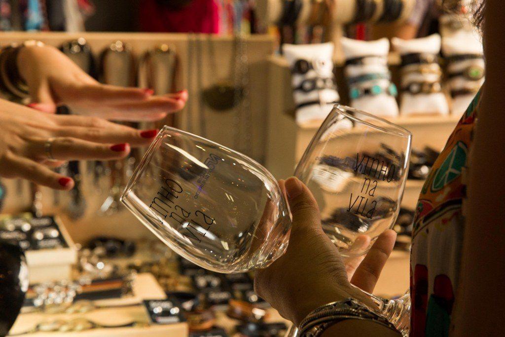 vinho na vila