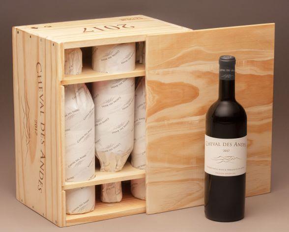 o vinho cheval de andes